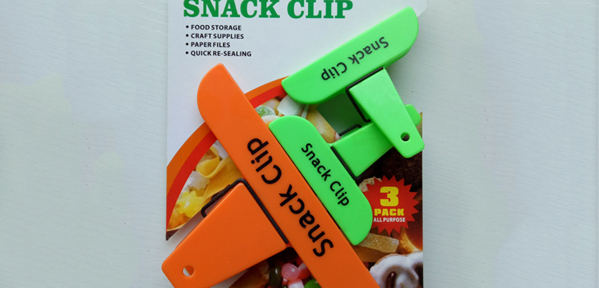 Snack clips